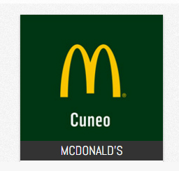 McDonalds Cuneo